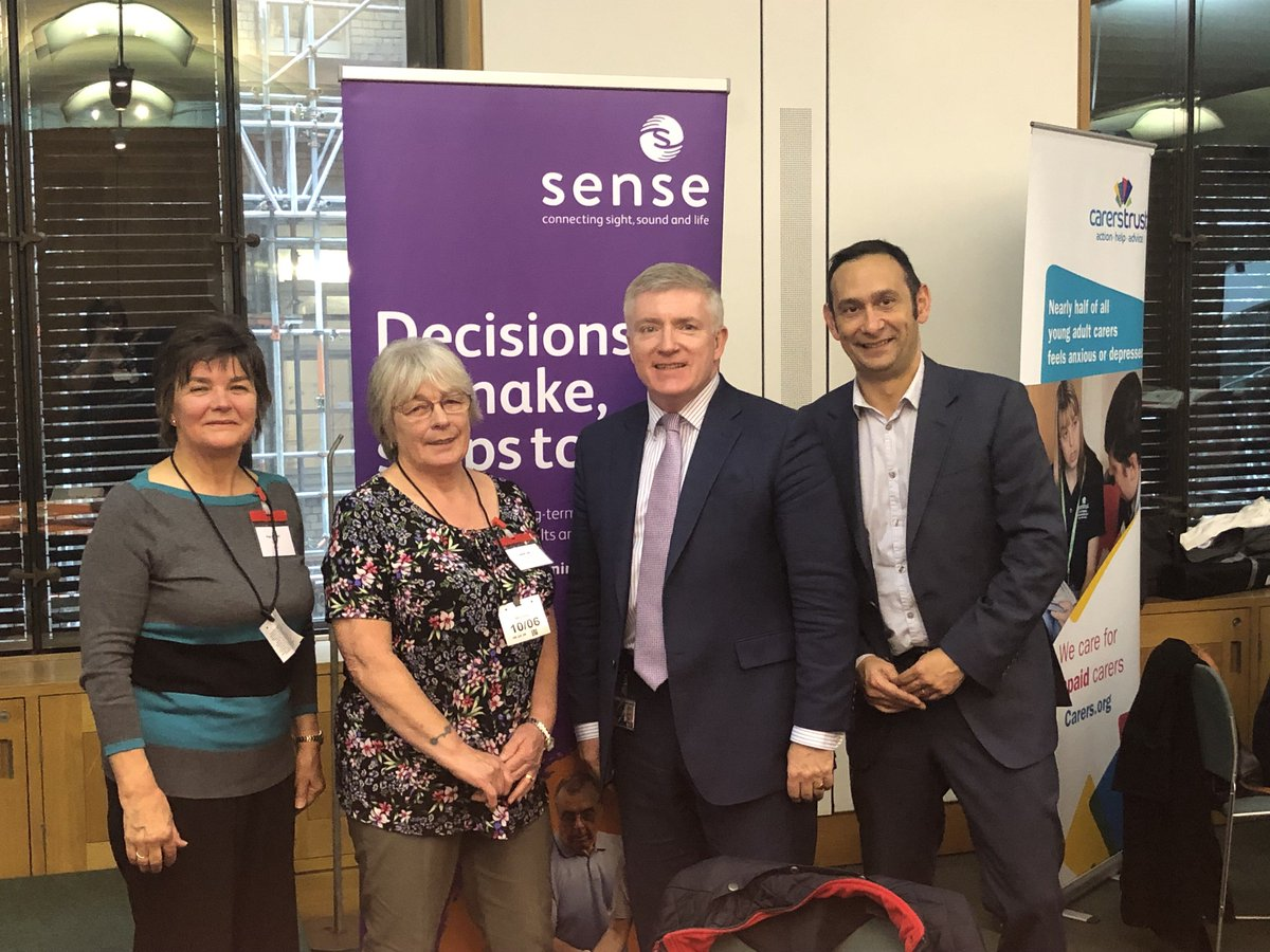 Today's @CarersWeek parliamentary event was a great success. Thank you to all the MPs who attended and pledged their support, and to our campaigners & carers Inge and Janet for sharing their stories with them. #CarersWeek To make your own pledge, visit ➡️ bit.ly/2saS5Ek