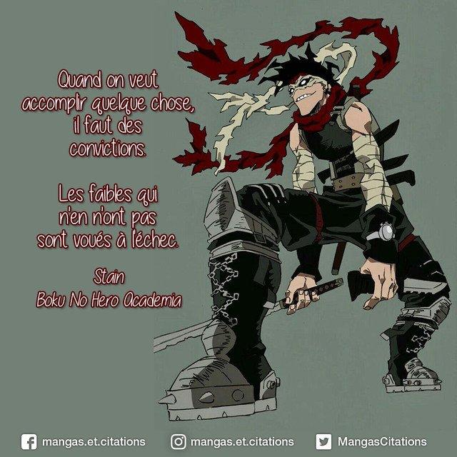 Citation Manga Anime בטוויטר Quand On Veut Accomplir Quelque