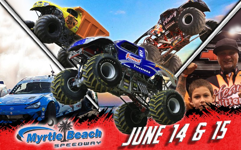 The #toughestmonstertrucks will be in Myrtle Beach, SC this weekend and Christian Norman will be there at the helm of BIGFOOT! https://www.toughestmonstertrucks.com/…/myrtle-beach-sc-ju…/  #bigfoot1 #bigfoot4x4 #bigfoot4x4x4 #bigfootmt #bigfootmonstertruck #monstertruck #monstertrucks