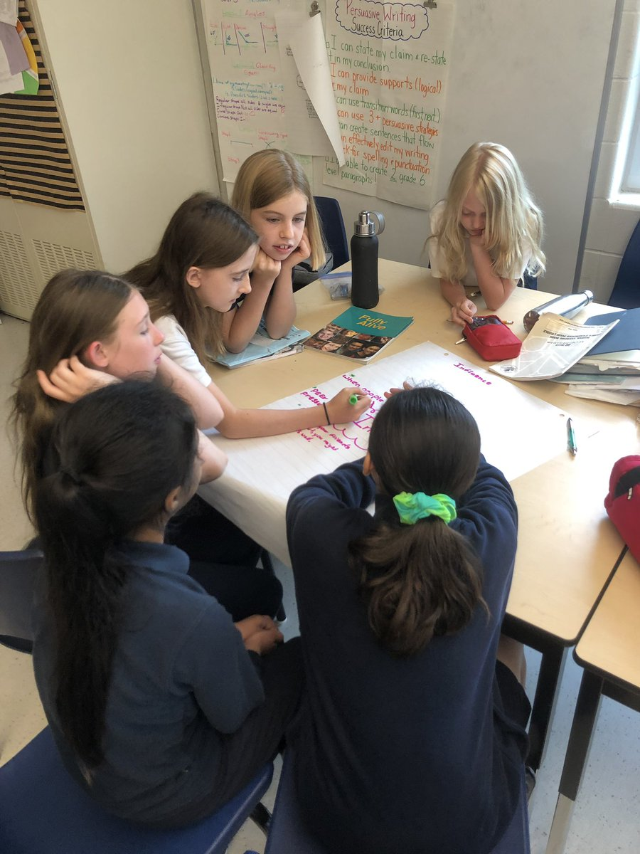 Our Grade 6's are at it again!! We are discussing positive and negative influences and how we can be a positive influencer in our community! Stay tune for how these role models start a positive influence this week! @HolyRosaryM #PositiveChange #InfluenceForChange<br>http://pic.twitter.com/kyep3idCsP