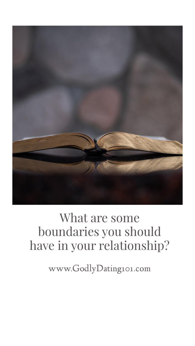 6 Healthy Boundaries to have in Your Relationship http://godlydating101.com/2019/06/10/6-healthy-boundaries-to-have-in-your-relationship/ …