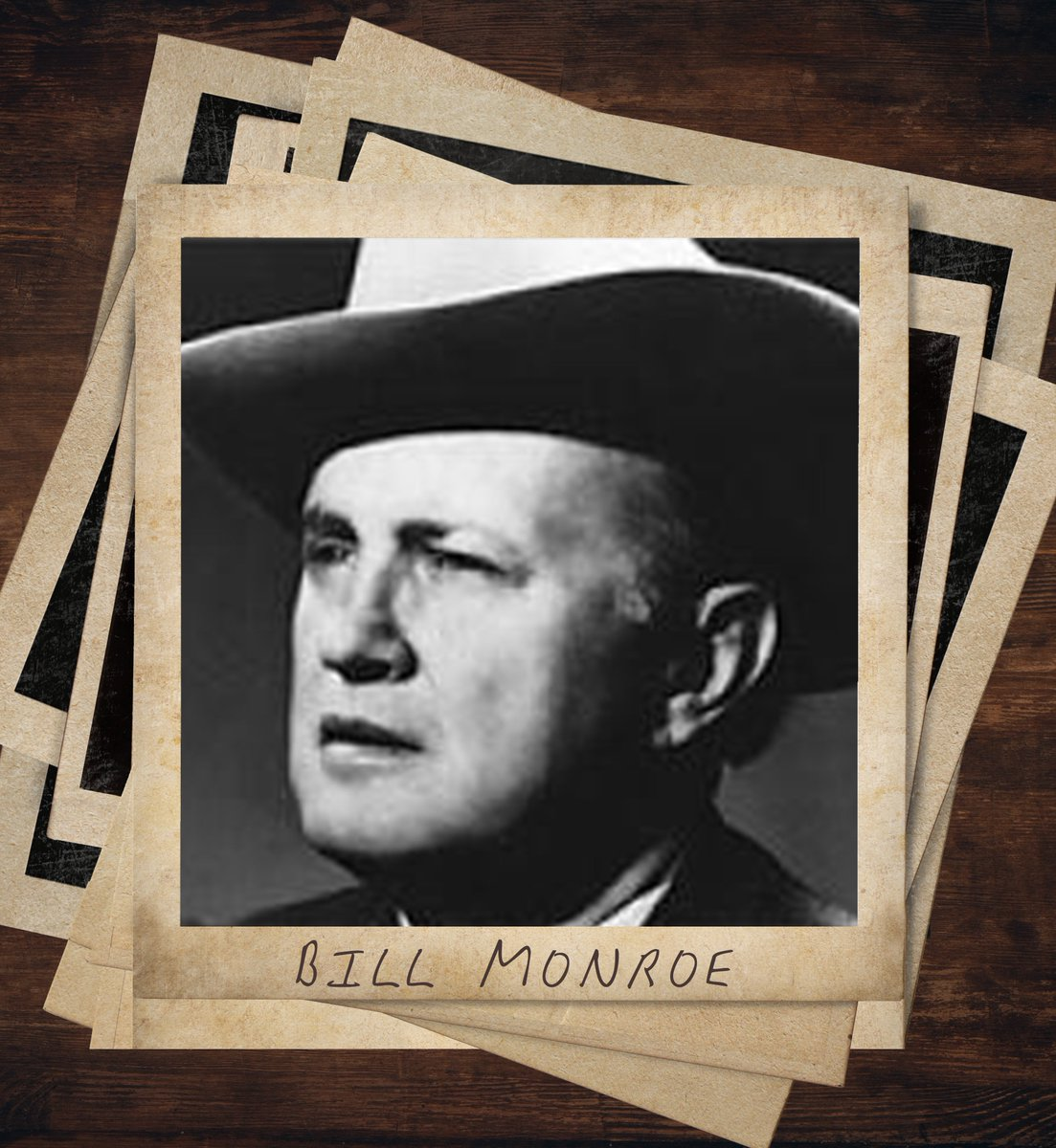"""#BillMonroe is considered the """"Father of Bluegrass,"""" and the genre even got its name from his band, The Blue Grass Boys! #ThatsCountryBro  Listen to Bill Monroe here:  https:// spoti.fi/2F3RHyq    <br>http://pic.twitter.com/D0eLjwt3sX"""