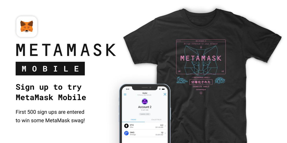 Metamask launches mobile