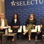 "Very informative case studies at the ""Plugging into Smart Cities"" session @SelectUSA drawing from the US experience in  planning, financing, attracting investments, and public-private partnerships of smart cities that have great potential in #Iraq #SelectUSASummit"