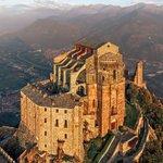 "Image for the Tweet beginning: castlesandmanorhouses: "" The Sacra di"