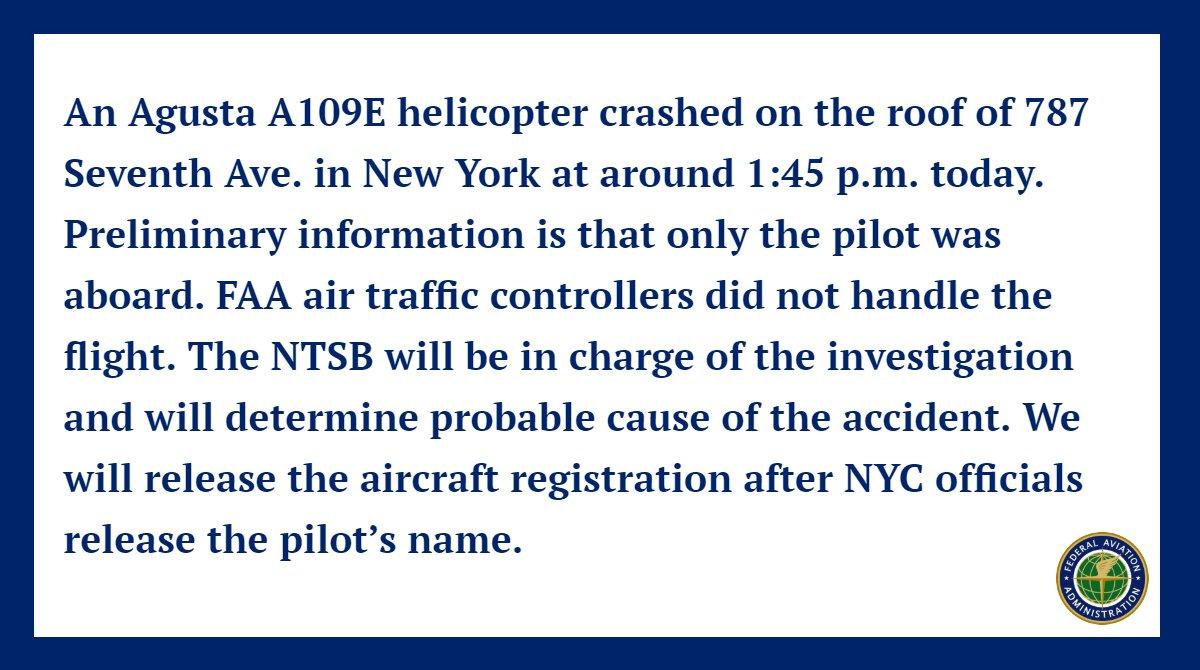 The FAA on Twitter: