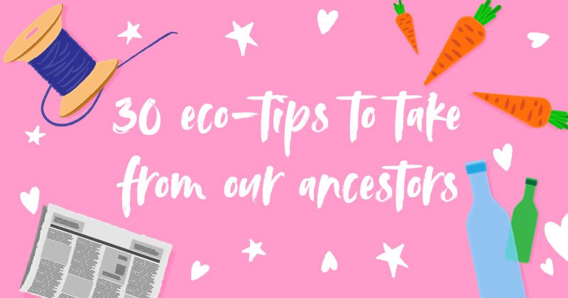 """""""During the war food was rationed, meaning there was no room for waste. Planning meals in advance reduces emissions coming from food that ends up in landfill.""""  Our blog post looks at top tips from our elders to be more eco-friendly #ethicalhour  https://tinyurl.com/yyz5roux"""