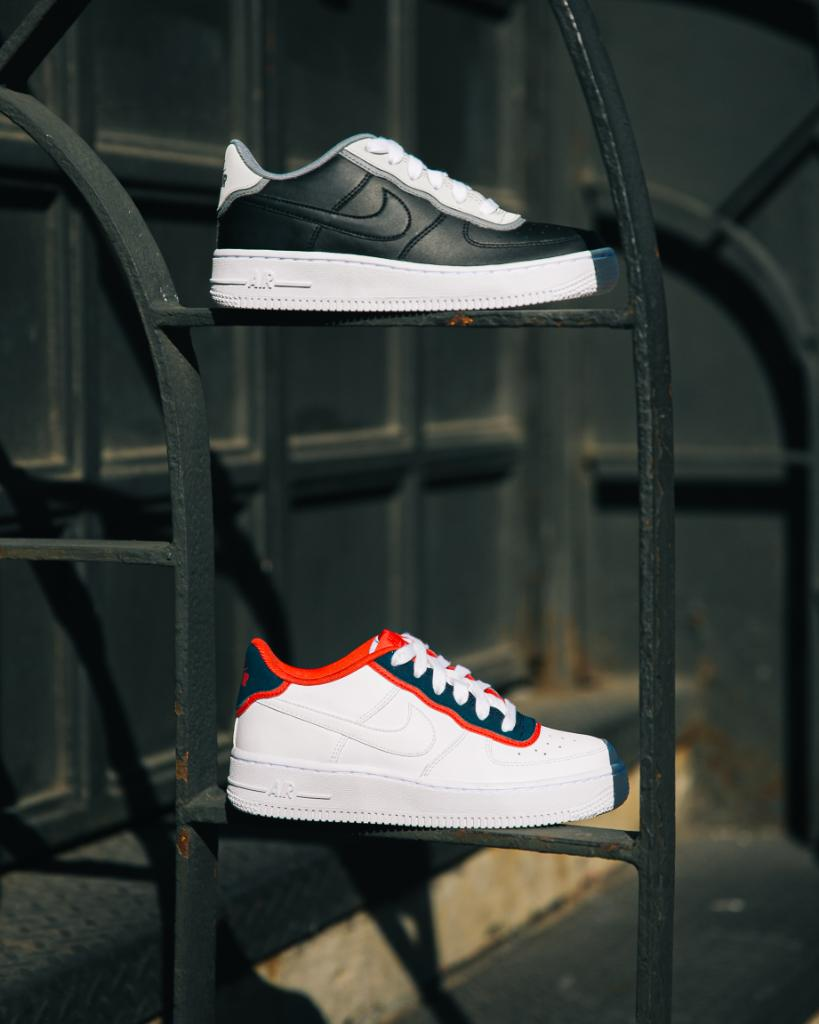 san francisco 81d37 91141 top or bottom kids nike air force 1 available now in store and online