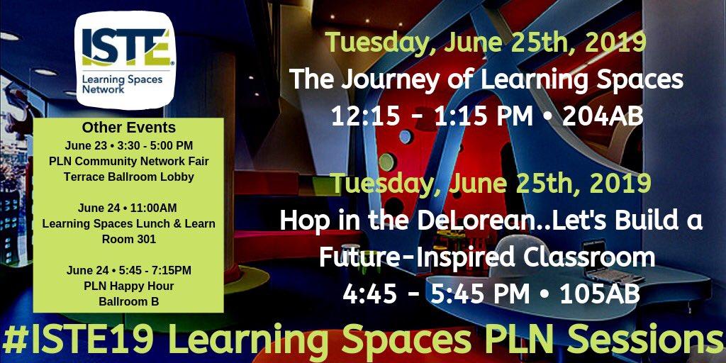 #ISTE19 #learningspaces #edtech #iste #notatiste19