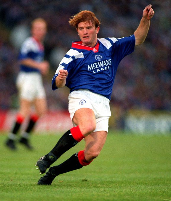Just in time Happy Birthday Stuart McCall