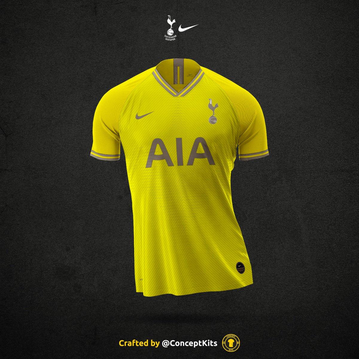 hot sales b05fb bdf86 Tottenham Hotspur Football Club away kit concept for the ...