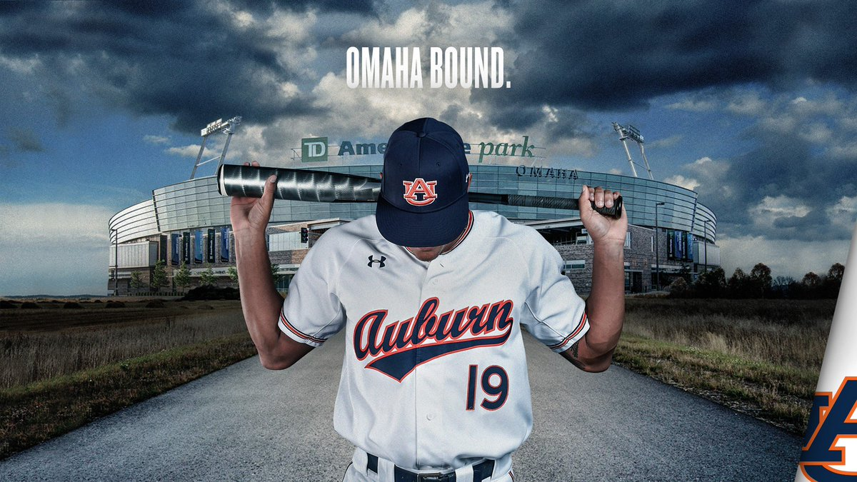 LETS GO-MAHA!!! The Tigers are headed to the College World Series for the fifth time in program history and first time since 1997!!! #WarEagle | #RoadToOmaha