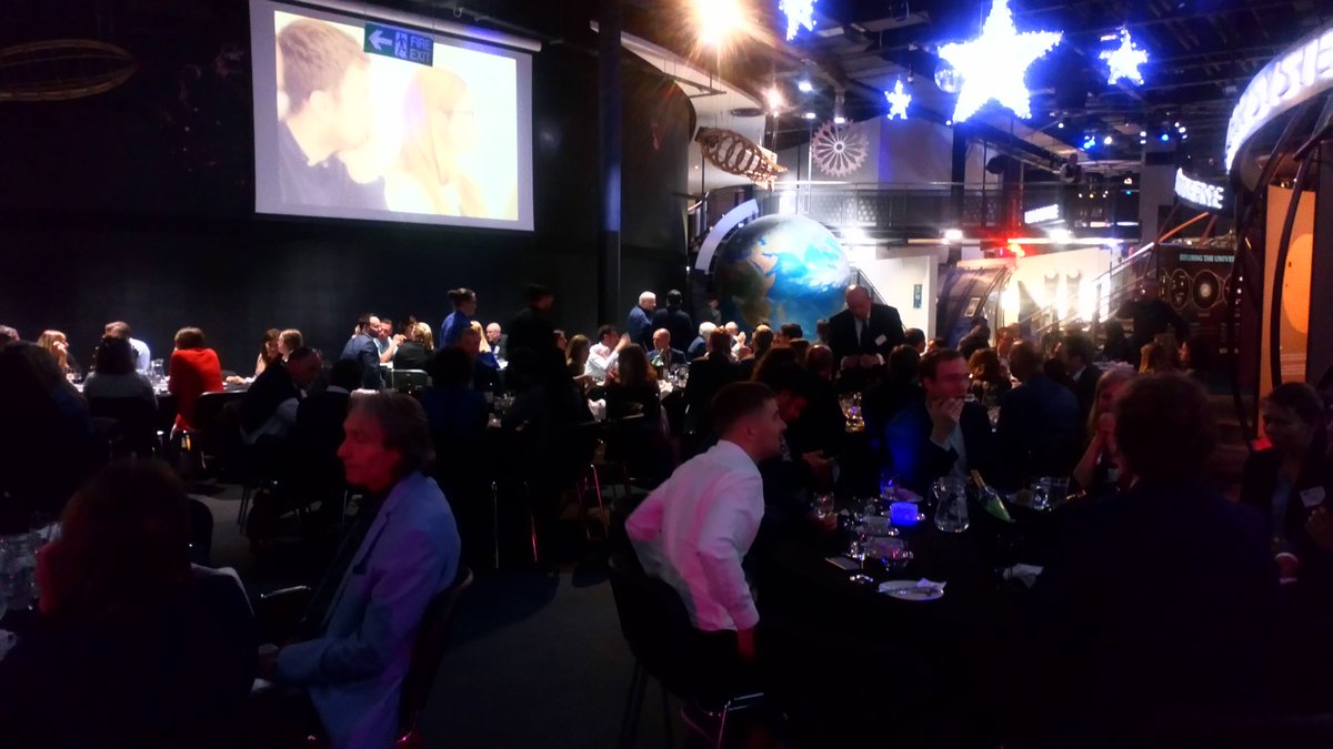 The IPDMC Gala Dinner is taking place at the National @spacecentre in Leicester tonight. #IPDMC2019