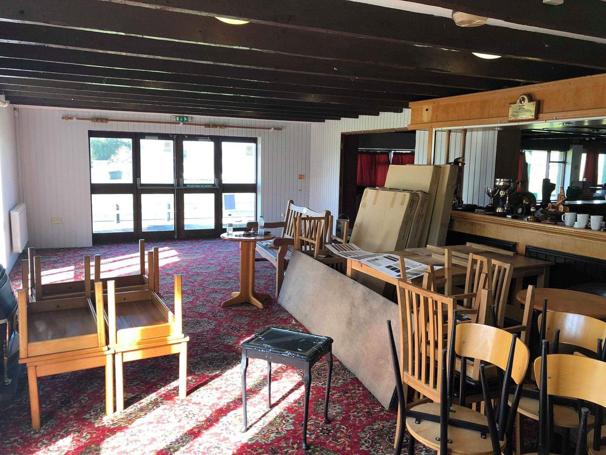 In 2018 our clubhouse was looking tired & dated. We decided we would do something about it! As part of our plan we were granted £8000 by the Big Lottery Community Fund to replace our existing floor. Thanks National Lottery, we couldnt have done it without you! @TNLComFund