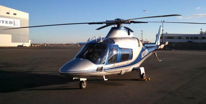 Chopper allegedly involved in today's crash in Manhattan