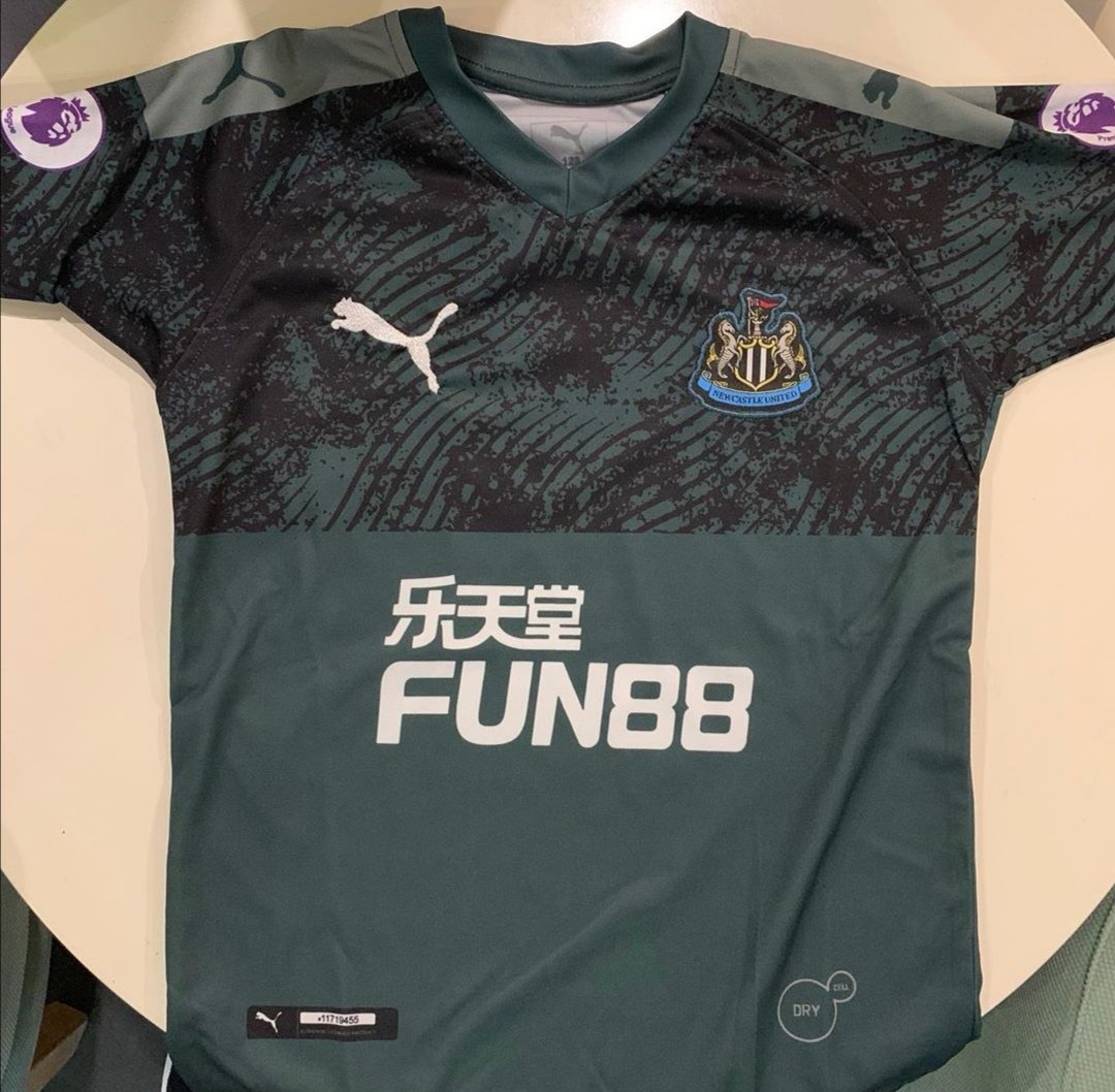 a9c3d280 Have seen this pic doing the rounds. #NUFC Newcastle must be challenging  Liverpool for the number of different coloured away kits they've had in  recent ...