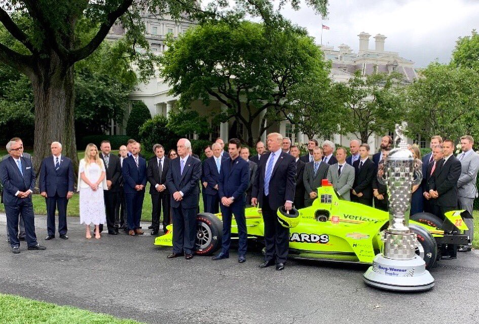 The Greatest Spectacle in Racing — honored at the White House // #indy500 #IndyCar