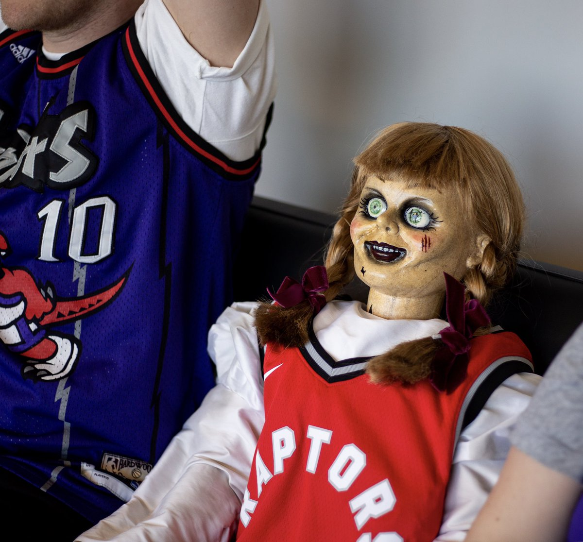 Possession of the ball? Annabelle knows all about possession… #HavocTourCanada @annabellemovie
