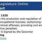 Image for the Tweet beginning: Inbox: @GovAbbott signs bill legalizing