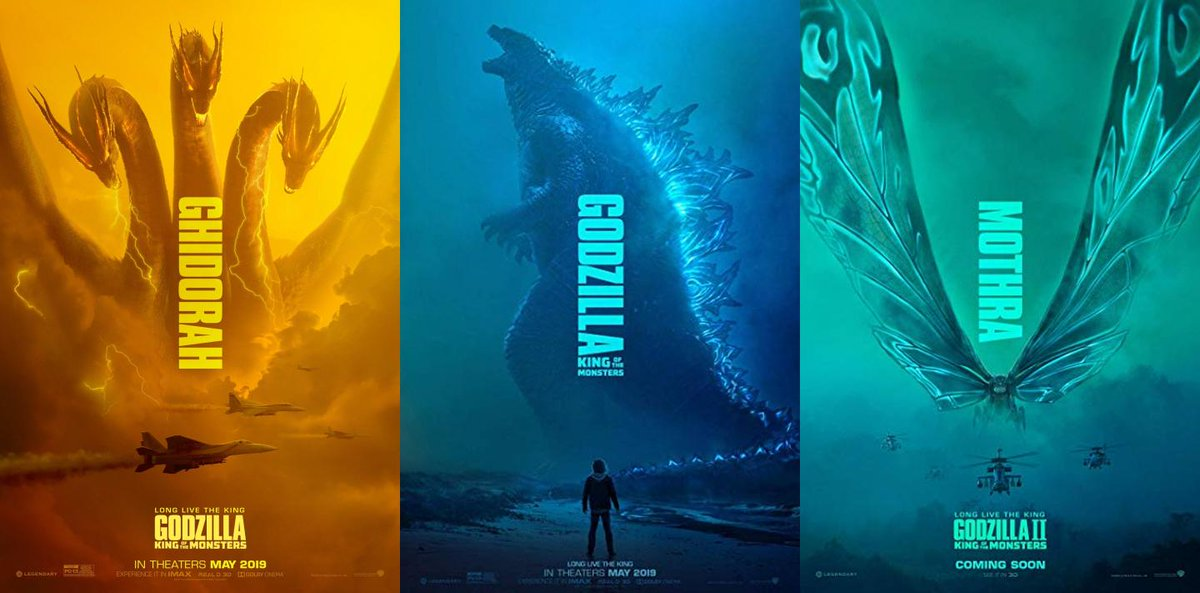 720p/1080p download Godzilla: King of the Monsters (@godzillaIIKoM
