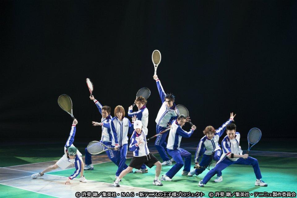 放送決定 「9代目始動!新青学(せいがく)テニス部 ミュージカル『テニスの王子様』3rdシーズン」