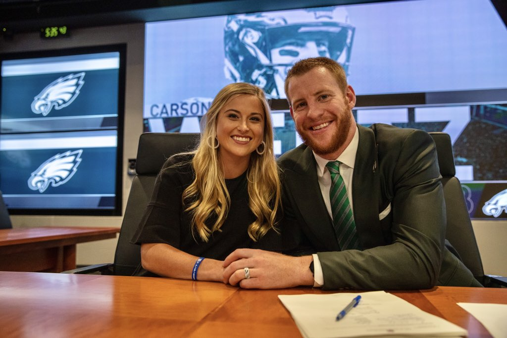 Excited to keep callin' Philly our home! Thankful for this incredible opportunity! #flyeaglesfly🦅