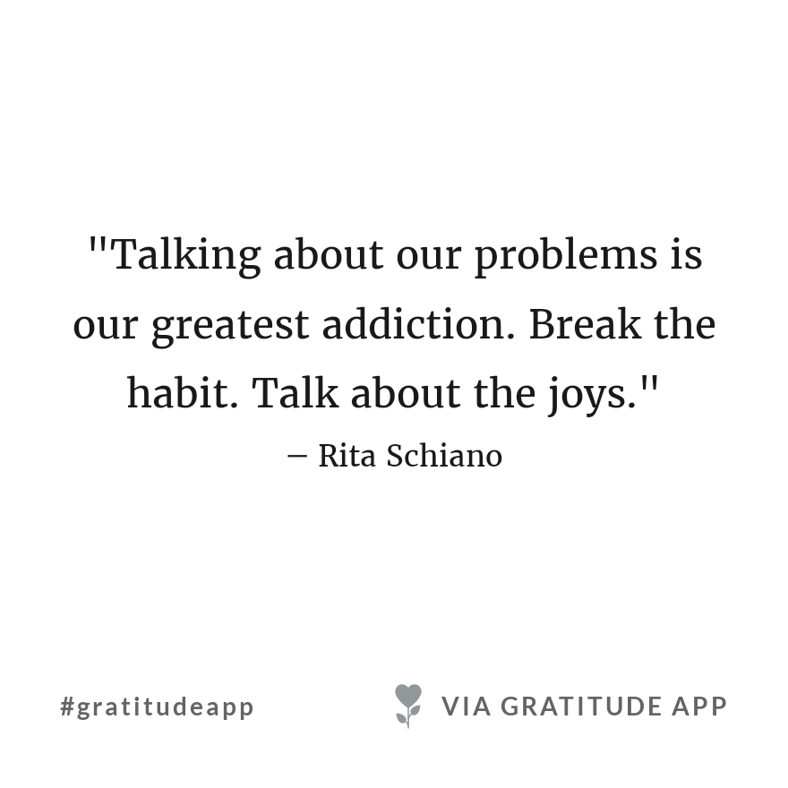 Instead of sharing problems, we can share solutions. Instead of spreading anger, we spread love. Instead of talking about others misery, let's talk about success. In times of negativity, we all need the light. Have. Beautiful day! #gratitudeapp #afewgoodnews<br>http://pic.twitter.com/UXJsEUvU5v