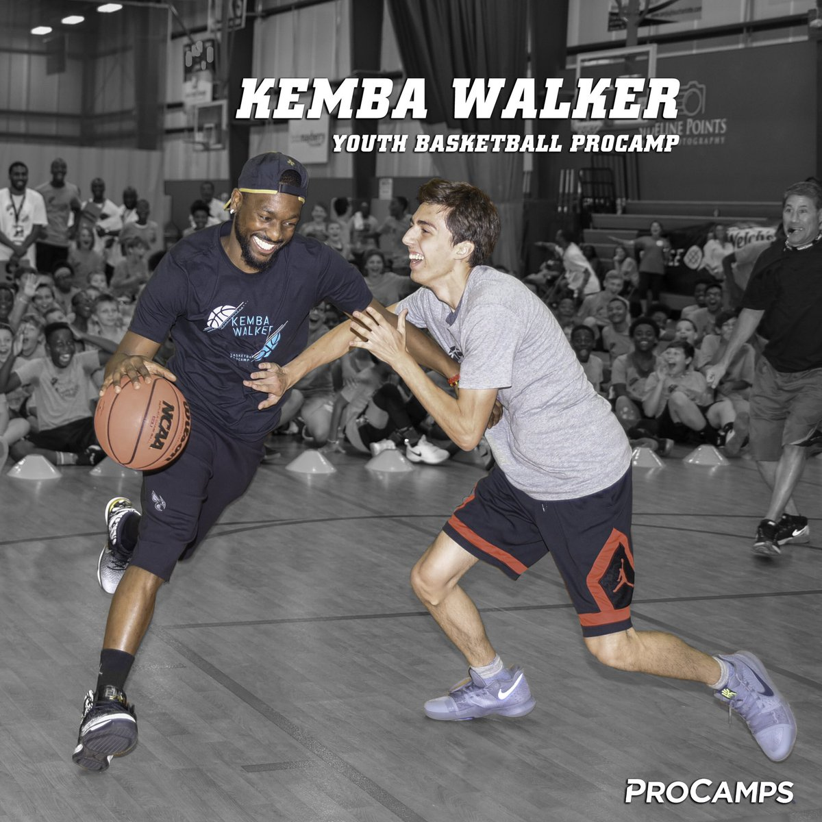 Still have a few spots left at my Youth 🏀 @ProCamps this Thursday in Charlotte! It's time to work. Go to http://KembaWalkerCamp.com for details & registration #ad