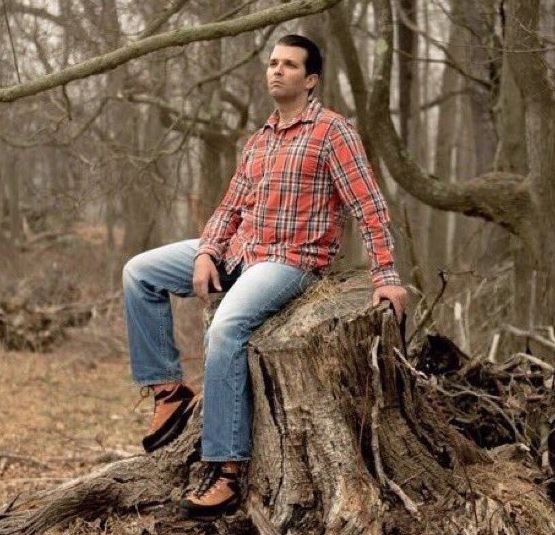 @MollyJongFast Meanwhile, his 'adult' son has yet to master the whole sitting thing.