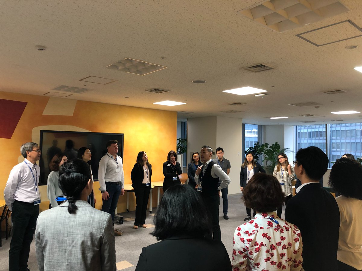 Executive MBA Global Network Wee 2019 - Super Aging Society Japan I DAY 1@ Hitotsubashi ICS Welcome to Tokyo, EMBA students from around the globe!!!