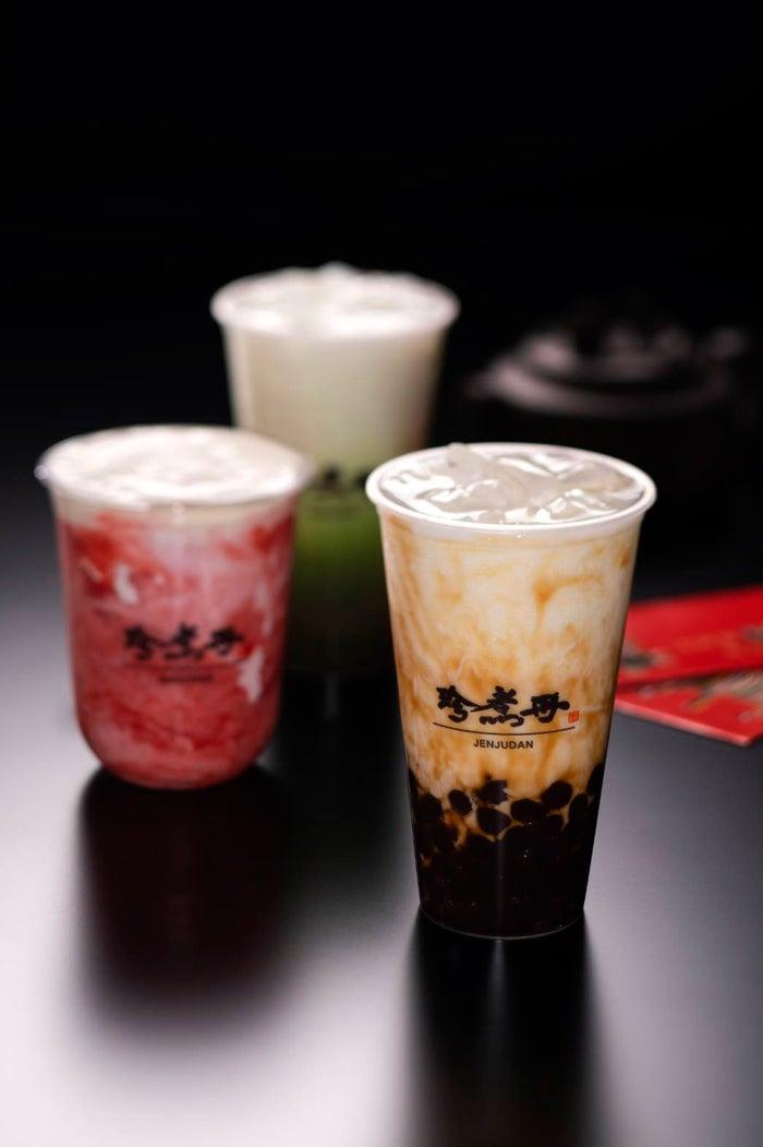 台湾発人気タピオカミルク店「珍煮丹」渋谷に日本初上陸🎠🍹✨タピオカミルクだけじゃない!スムージーやフルーツティーも🍎🍑 #タピオカ #カフェ 【ほか写真あり】