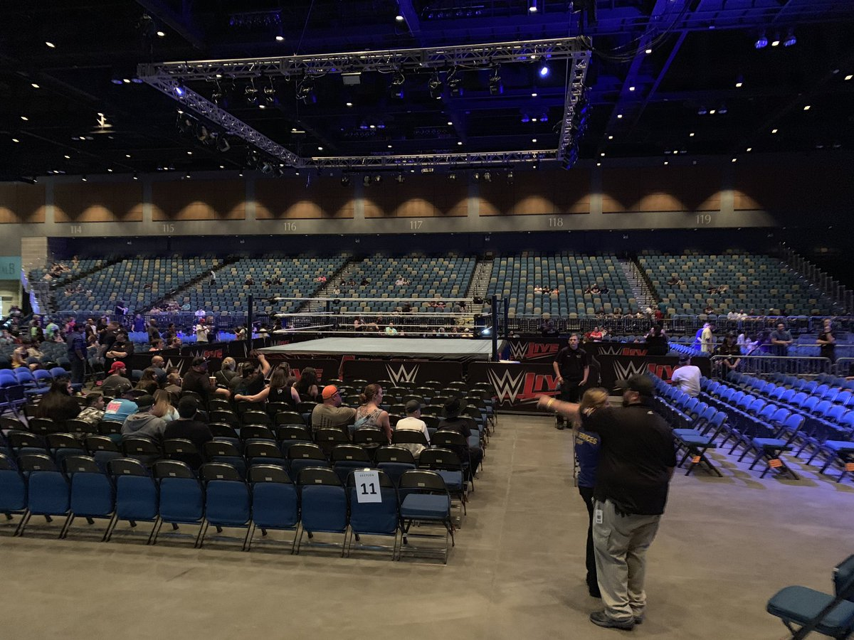 WWE Live Event Results From Reno (6/10): IC Triple Threat, Randy Orton Vs. Aleister Black, More