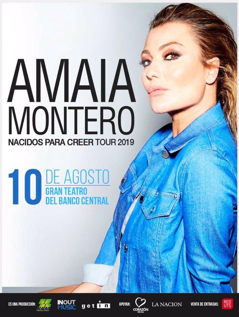 """Amaia Montero >> álbum """"Nacidos Para Creer"""" (II) - Página 2 D8vv2aFW4AUDR96"""