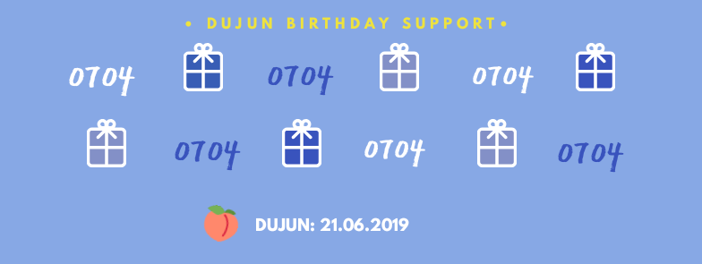 YOON DUJUN BIRTHDAY SUPPORT   Hello! We will send some gifts to Dujun on his upcoming birthday! Please give us lots of supports   Please kindly refer to the form for more details!   21JUNE 2019 / FRIDAY 10PM KST   https:// forms.gle/hrbsYdKfomjUeU 3eA  … <br>http://pic.twitter.com/4oZmQepudM