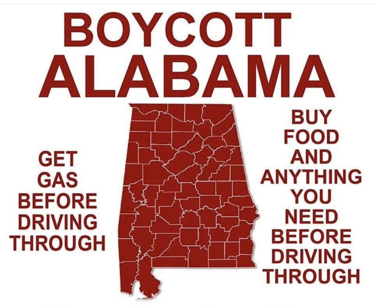 "We don't blame all of #Alabama, but we can't save you. Your State is ""terminating parental rights for a person found to have conceived the child by rape or incest"" (Wash Post June 10, 2019)  #RiseUp #WarOnWomen #BoycottAlabama <br>http://pic.twitter.com/7LumC5qxW4"