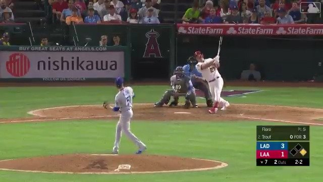 You can always count on @MikeTrout . #MLBTwitterHitter
