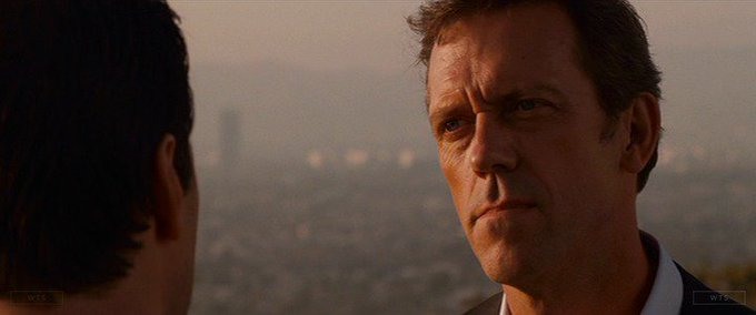 Happy Birthday to Hugh Laurie who turns 60 today! Name the movie of this shot. 5 min to answer!