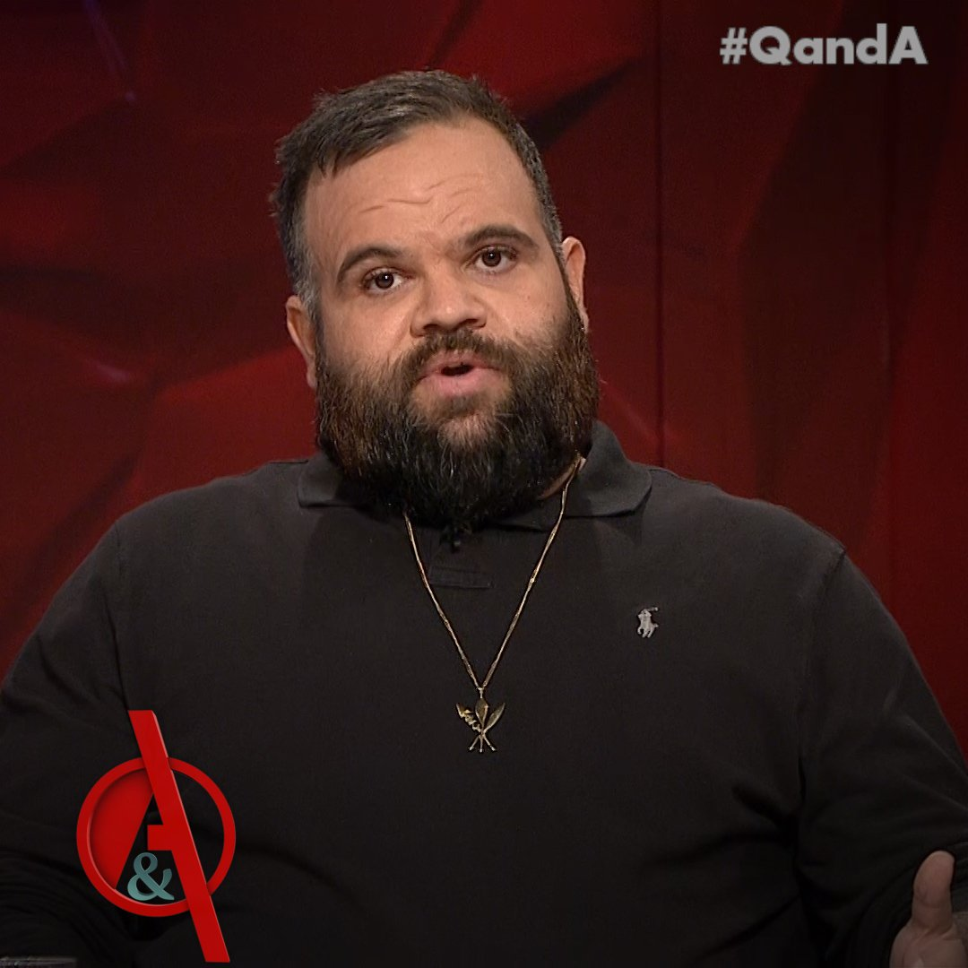 Briggs talks about the disadvantage his family faced in the 1980s, and the racist trolling he faces online every day. #QandA