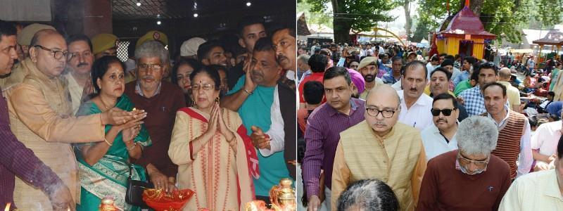 Advisor Skandan visits Mata Kheer Bhawani Shrine at Tulmulla  #matakheerbhawani #tulmulla #srinagar