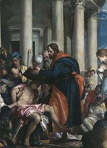 Tuesday 11 June 2019   Saint Barnabas, Apostle    Saint Barnabas curing the sick  by Paolo Veronese,  Musée des Beaux-Arts de Rouen <br>http://pic.twitter.com/6Huv7eNmS3