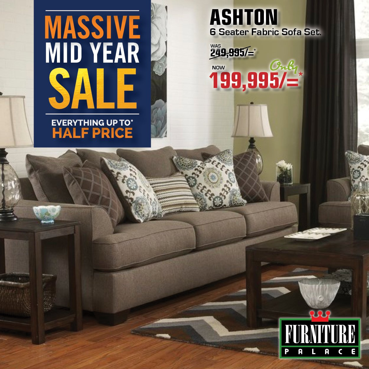 """Furniture Palace Ltd on Twitter: """"The MASSIVE MID YEAR SALE🔥 on"""