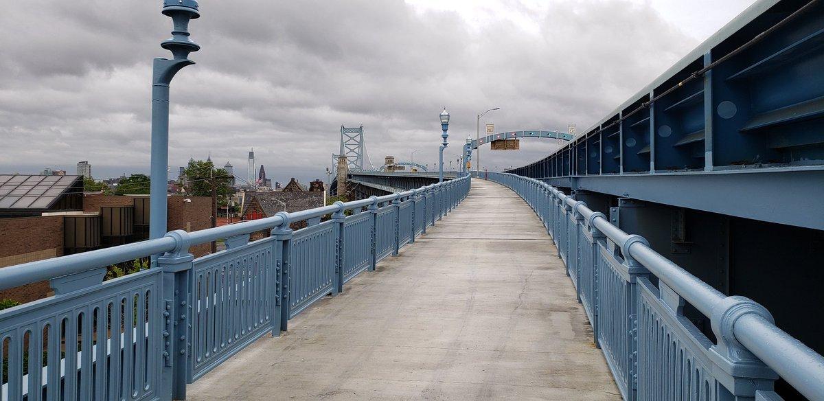 ghost ship ben franklin bridge