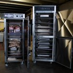 Buon pomeriggio! We have a Buddy 48 Smoker and a HWC 18 Warming Cabinet ready to go to the Shamrock Pub in Caserta, Italy today. 🇮🇹  #Smoker #WarmingCabinet #CommercialBBQ #CommercialKitchens #Restaurant #BBQ #Pub