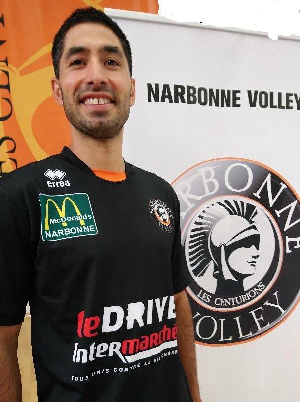 Le @narbonnevolley est heureux d'annoncer l'arrivée au club du passeur...