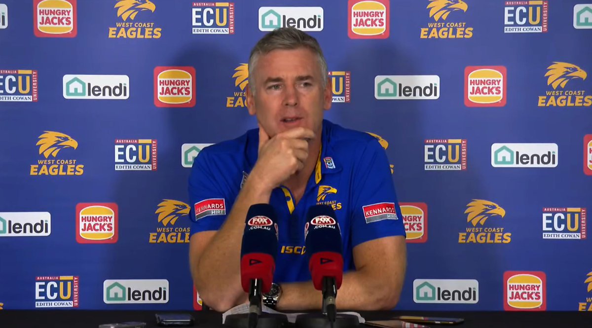 Here are the Pressing Questions for Adam Simpson after our loss to Sydney...  Read: http://bit.ly/Simpsnr12