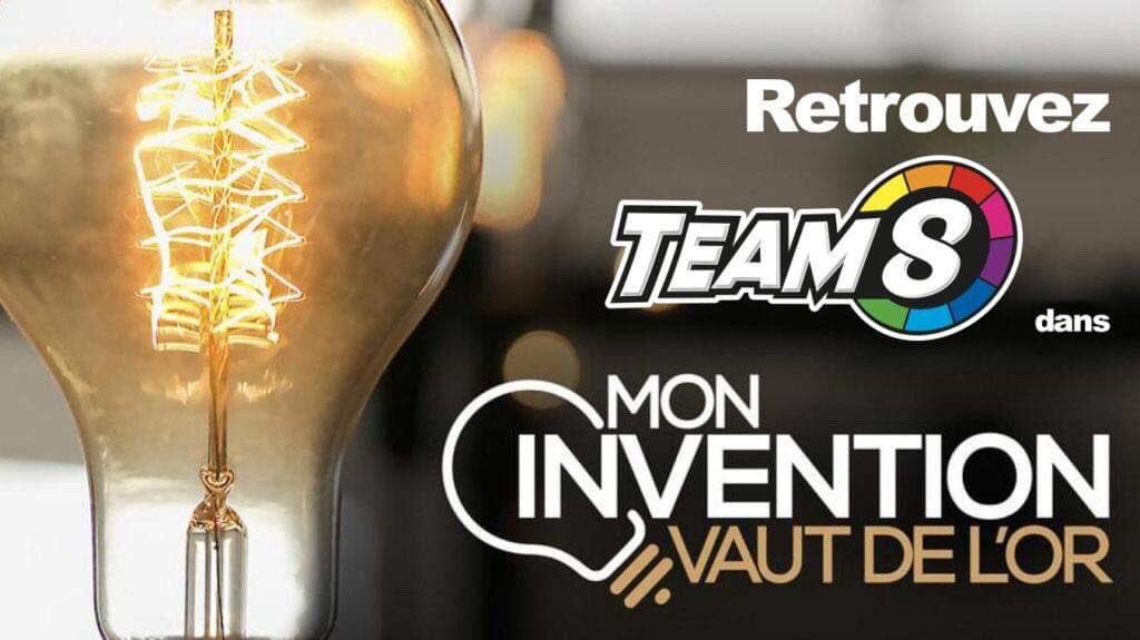 Team8 officiellement une «Invention en Or» sur M6 !   #M6 #MonInventionvautdeLor #startup<br>http://pic.twitter.com/HbXpJPECMm