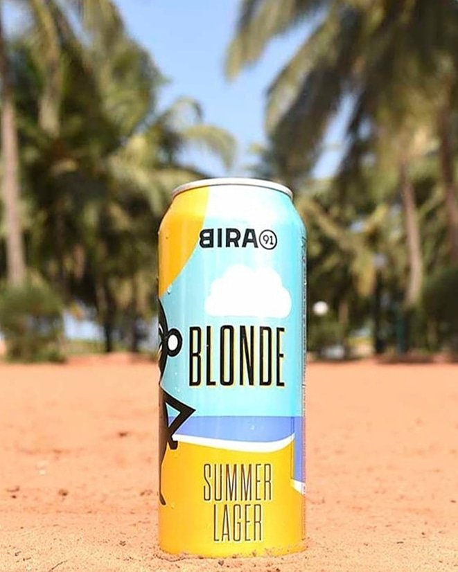 Summer calls for a blonde lager with a hoppy twist.This 'Summer Lager' is rich in colour, made with the choosiest barley, delicately malty with a nice balance of bitterness and dryness and a fruity aroma.Let us know what you taste 🍻#summerblonde #bira91beer #summerservedcold