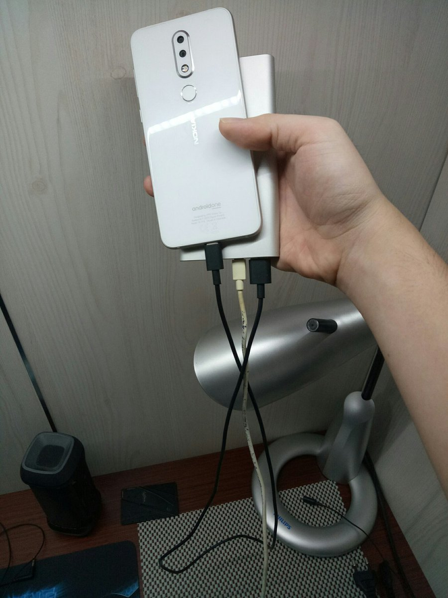 To people who knows about electrical things, is it ok to charge your phone with a powerbank which is being charged?