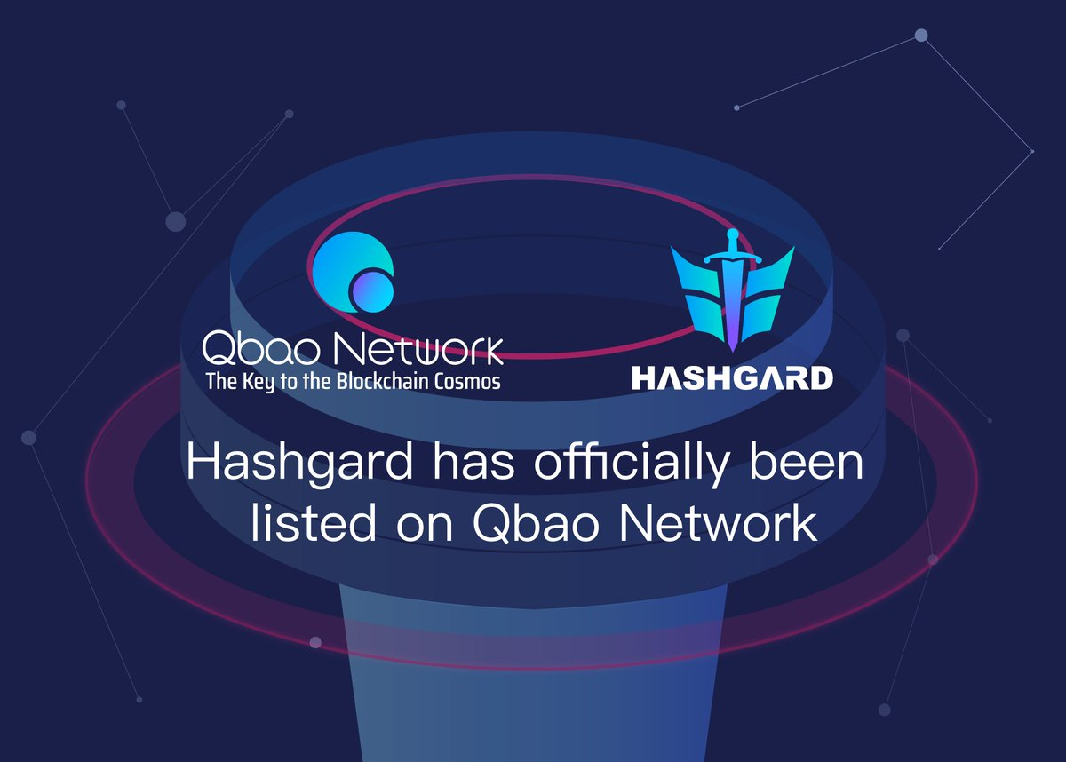 Welcome Hashgard to build community in Qbao Network wallet. Looking forward to a long cooperative relationship.😀@Hashgard_off @Qbao2339