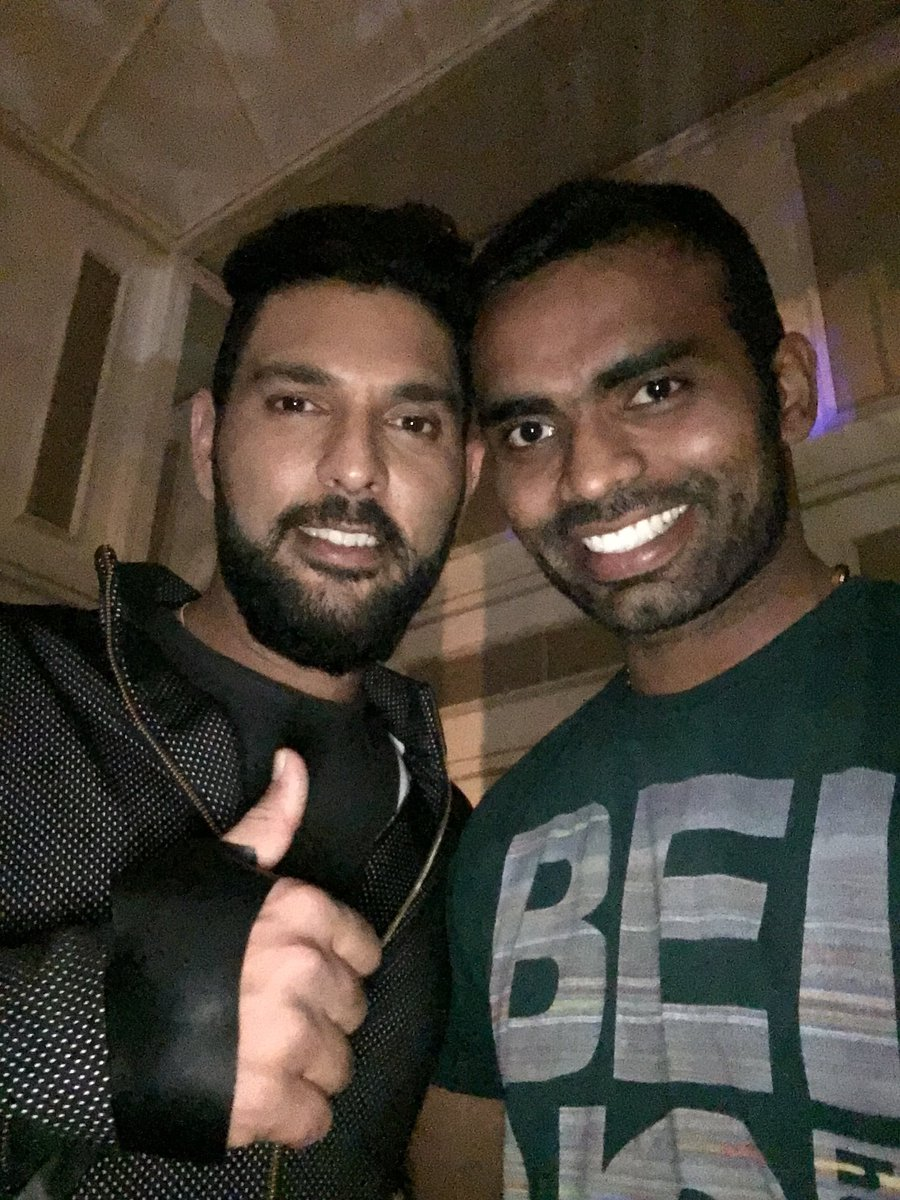 May you be proud of the way you played the Game , The fight against the odd .. and the difference you have brought in the youngsters mind   .... Wish you a wonderful second innings brother @YUVSTRONG12  .... #yuvi #HappyRetirement #cricket